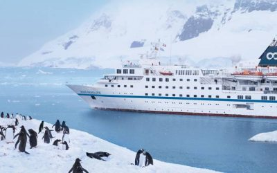 Работа и забавление на Expedition Cruise Ship RSGC Resolute