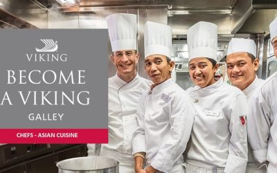 CHEF DE PARTIE & COMMIS DE CUISINE FOR VIKING RIVER CRUISES