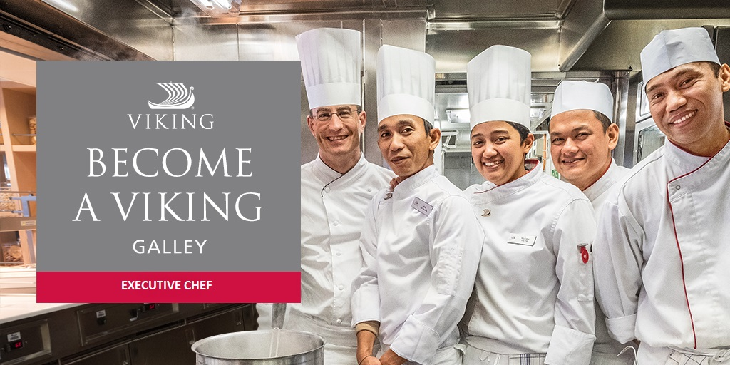 EXECUTIVE CHEF FOR VIKING RIVER CRUISES - Cosmos Agency