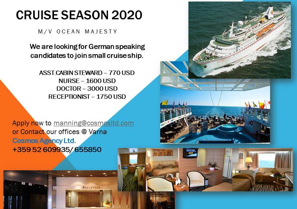2020 Cruise ship positions